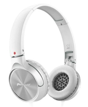 Pioneer Fully Enclosed Dynamic Headphones with Microphone